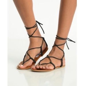 Steve Madden werkit lace up sandals